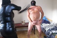Mistress Lia Whips her Slave